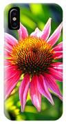 Pink Coneflower IPhone Case