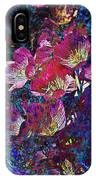Pink Floral Abstract IPhone Case