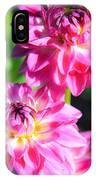 Pink Flower Pair IPhone Case