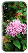 Pink Flowers Of Little Bavaria IPhone Case
