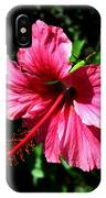 Pink Hibiscus2 IPhone Case