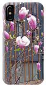 Pink Magnolia. Square Format IPhone Case
