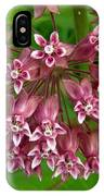 Pink Milkweed IPhone Case