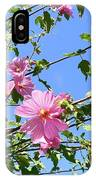 Pink Musk Mallow IPhone Case