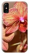 Pink Orchid2 IPhone Case