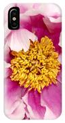 Pink Peony Flowers Series 3 IPhone Case