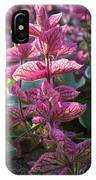 Pink Periwinkle IPhone Case