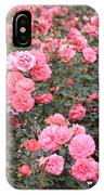 Pink Roses Canvas IPhone Case