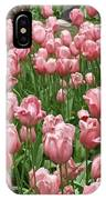 Pink Tulips 2 IPhone Case
