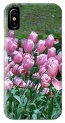 Pink Tulips 3 IPhone Case