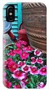 Pinks The Garden Beauty - Dianthus IPhone Case