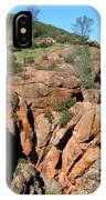 Pinnacles Outcropping Photograph IPhone Case