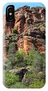 Pinnacles Rock Face Photograph IPhone Case