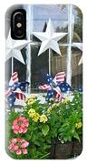 Pinwheels In The Flower Box  IPhone Case
