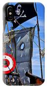 Pirate Ship With Target IPhone Case