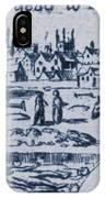 Plague, 1665 IPhone Case
