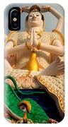 Plai Laem Buddha IPhone Case
