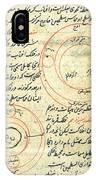 Planetary Diagram, Islamic Astronomy IPhone Case