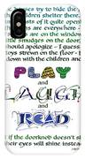 Play Laugh Read IPhone Case