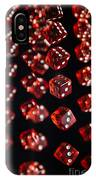Playing Dice Being Rolled IPhone Case