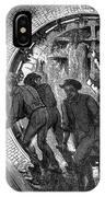 Pneumatic Transit, 1870 IPhone Case