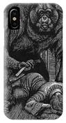Poe: Rue Morgue, 1841 IPhone Case