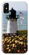 Point Montara Lighthouse Vista IPhone Case