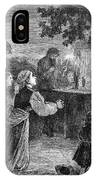 Poland: Cholera, 1873 IPhone Case