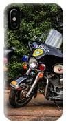 Police Motorcycles IPhone Case