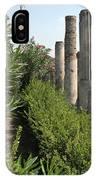 Pompeii Columns 2 IPhone Case