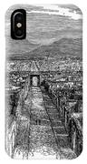 Pompeii: Ruins, C1880 IPhone Case