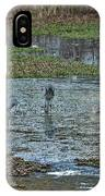 Pond Birds At Sunset IPhone Case