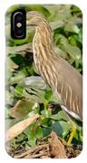Pond Heron IPhone Case