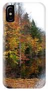 Pond On Limekiln Road II IPhone Case