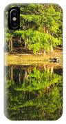 Pond Reflection Guatemala IPhone Case
