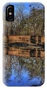 Pond Reflections IPhone Case