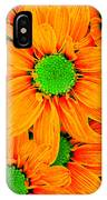 Pop Art Daisies 13 IPhone Case