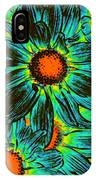 Pop Art Daisies 17 IPhone Case