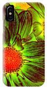 Pop Art Daisies 5 IPhone Case