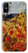 Poppies In Provence 456321 IPhone Case