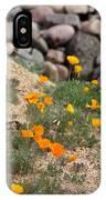 Poppies N River Rocks IPhone Case