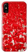 Poppy Meadow ... IPhone Case