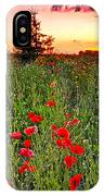 Poppy Patch And Previsualization IPhone Case