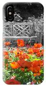 Poppy Seed Bench IPhone Case