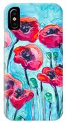Poppy Sky IPhone Case
