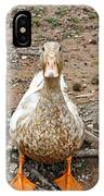 Portrait Of An Alabama Duck IPhone Case