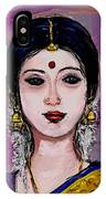 Portrait Of An Indian Woman IPhone Case