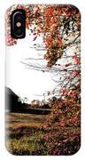 Portrait Of Autumn IPhone Case
