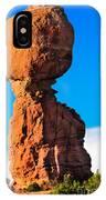 Portrait Of Balance Rock IPhone Case