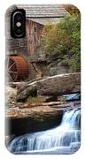 Portrait Of Glade Creek Mill IPhone Case